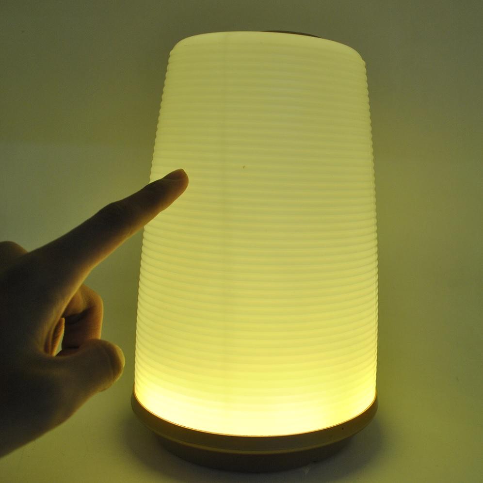 portable 24 led touch sensor lamp beating light lampu