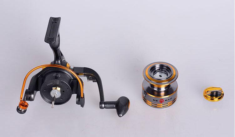 Debao Gulungan Pancing DB6000A Metal Fishing Spin Reel 10