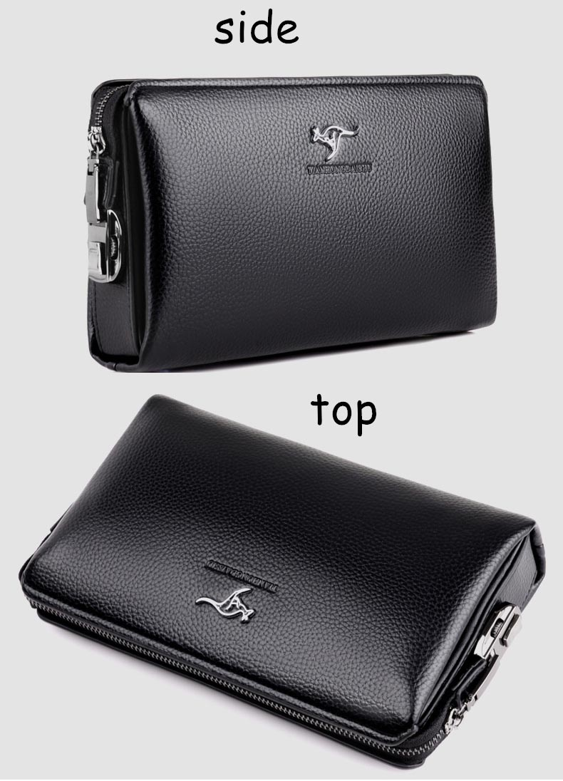 Dompet Pria Anti Theft Password Model Panjang