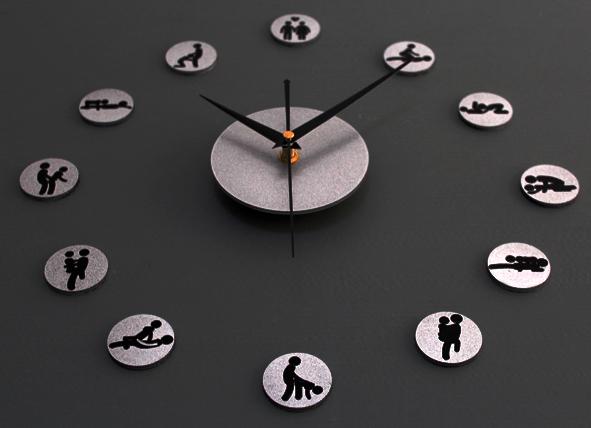 DIY Giant Wall Clock 30-60cm Diameter - ELET00664   Jam Dinding ... 8ee068c880