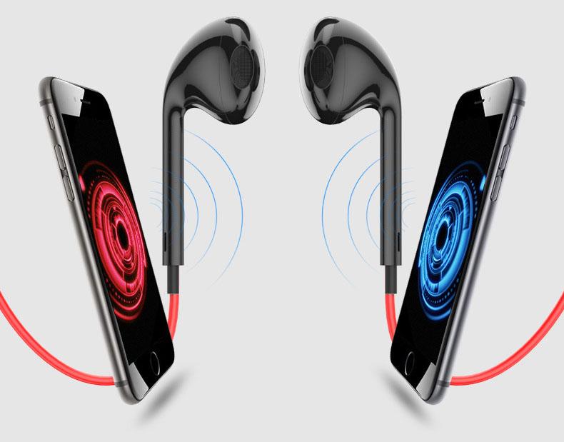 Earphone Bluetooth V4.1 + EDR Sports dengan Neckband Magnetic ... b6f5a51399