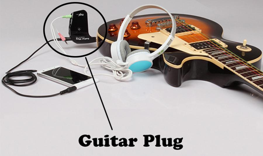 Amplifier Gitar Dengan Plug Headphone