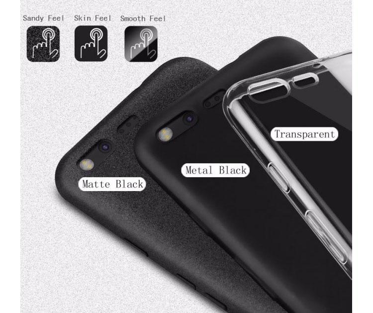 Imak Full Cover Silicone Case For Xiaomi Redmi Note 4x