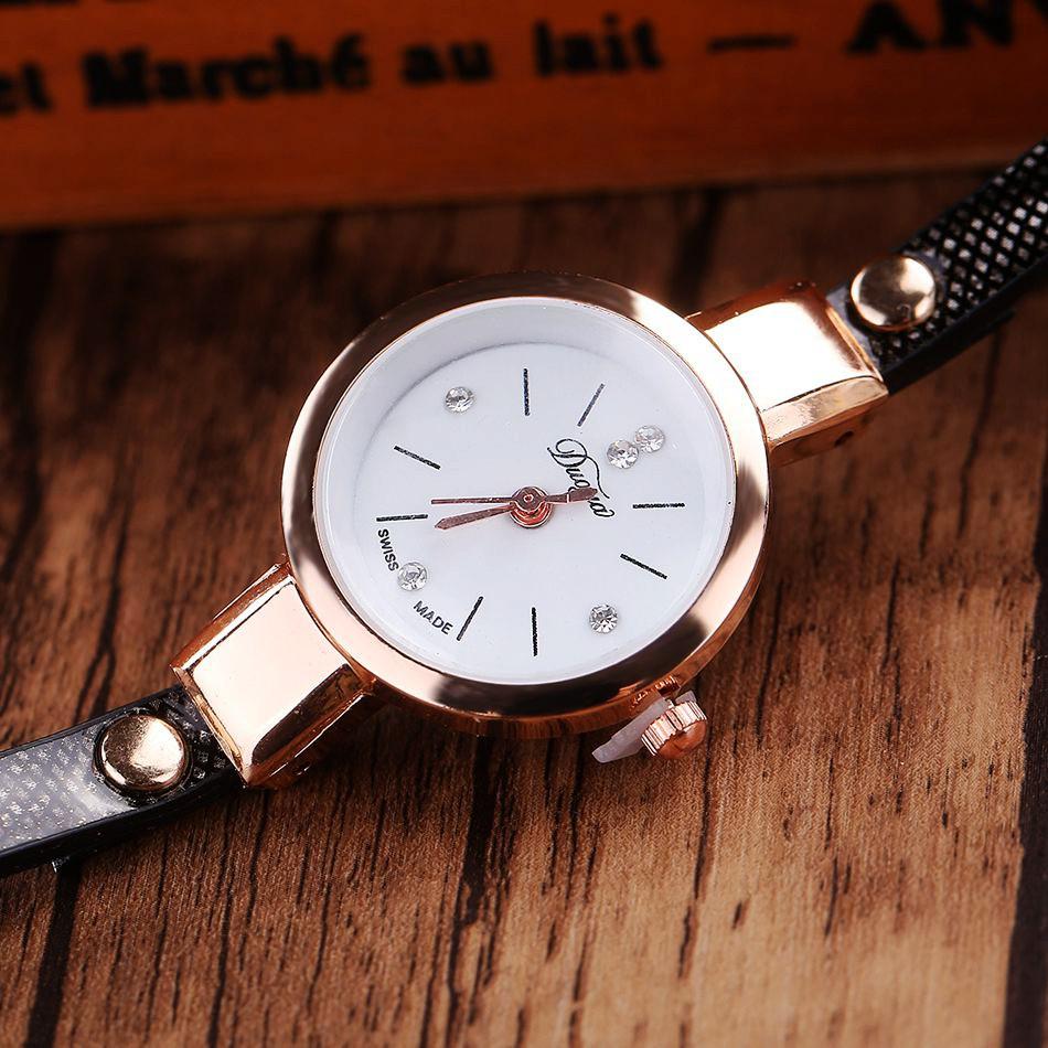 Jam Tangan Wanita Model Gelang - XR1297 - Black