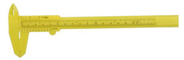 Jangka Sorong Plastik Vernier Caliper Gauge Micrometer