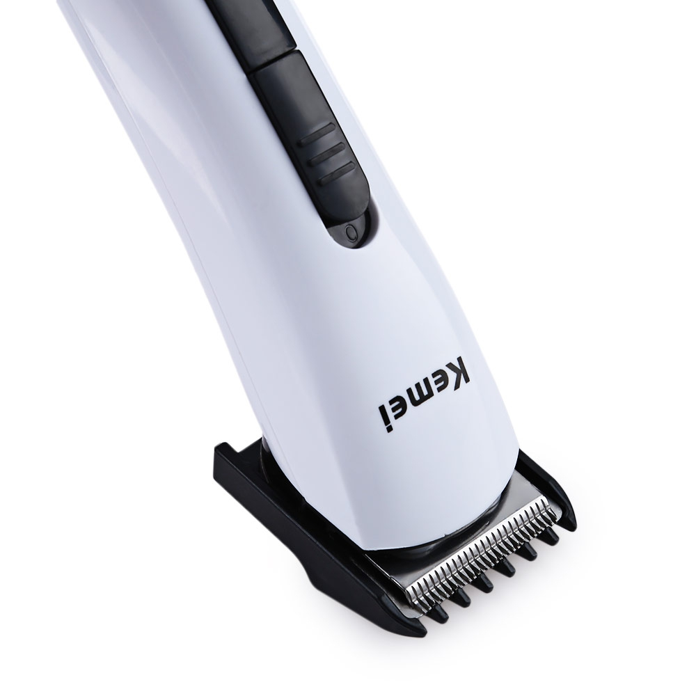 ... Kemei Alat Cukur Elektrik Hair Trimmer Shaver - KM-2516 - White - 4 ... 8813a02dd3