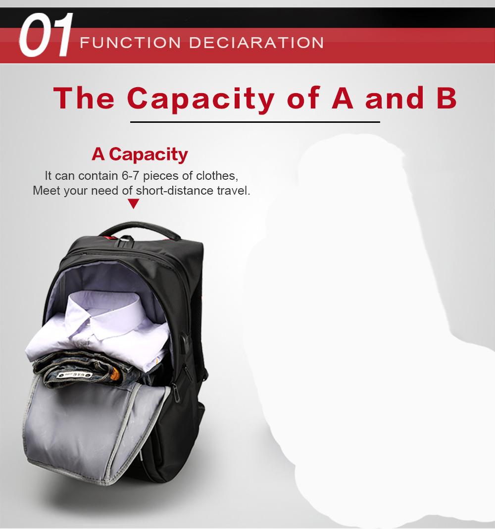 Tas Ransel ini dibuat dengan ukuran 46x31x19 cm untuk menunjang Anda ketika ingin membawa banyak barang sekaligus, cocok untuk keperluan kerja, ...