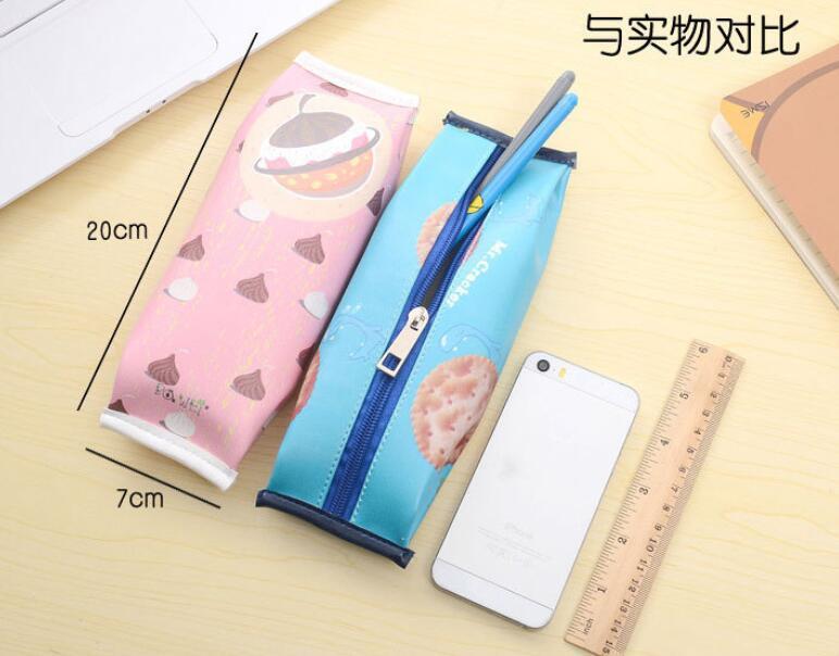 Kotak Pensil Cracker Cute - Pink - JakartaNotebook.com