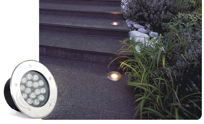 Lampu Tanam Led Outdoor Waterproof Aluminium Dim 80mm Warm White Jakartanotebook Com