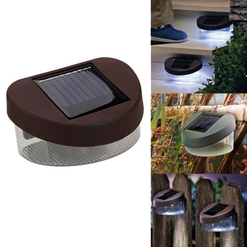Lampu Solar Taman Led Solar Lamp Outdoor Garden White Hbt 1501 Brown Jakartanotebook Com