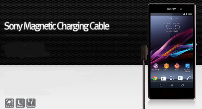 Overview of High Performance USB Magnetic Charger Cable for Sony Xperia Z1 / Z2 / Z3