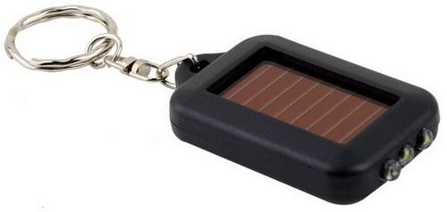 Lampu senter LED mini dengan tenaga baterai solar yang diperoleh dari matahari. Memiliki 3 LED yang super terang, dilengkapi dengan gantungan kunci dan ...