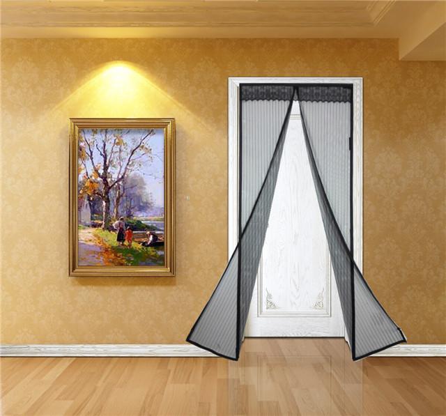 Magnetic Screen Door : Magnetic door screen pintu magnet blue
