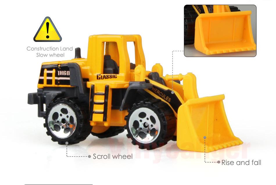 Mainan Mobil Mobilan Truck Konstruksi Diecast Anak 6 Pcs Cp1073 Yellow Jakartanotebook Com