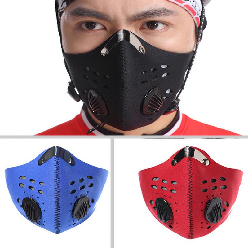 Masker Motor Filter Anti Polusi Hepa Pm2 5 Black