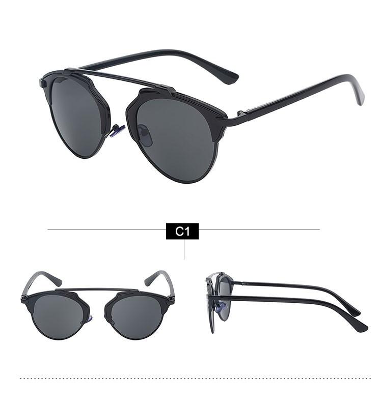 ... Maxglasiz Kacamata Hitam Vintage Sunglasses untuk Pria   Wanita - Black  Black - 4 ... efcf53b2a3