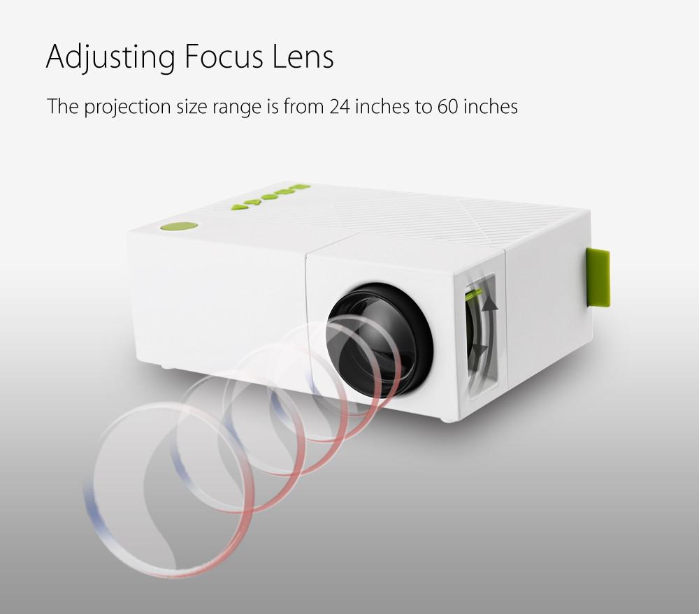 Proyektor Mini Lcd 1080p 600 Lumens Yg310 White Unic Led Projector Uc28 400 Portable Uc 28 Plus Ukuran Layar Yang Besar Tentu Membuat Anda Semakin Nyaman Menikmati Film Favorit Di Rumah