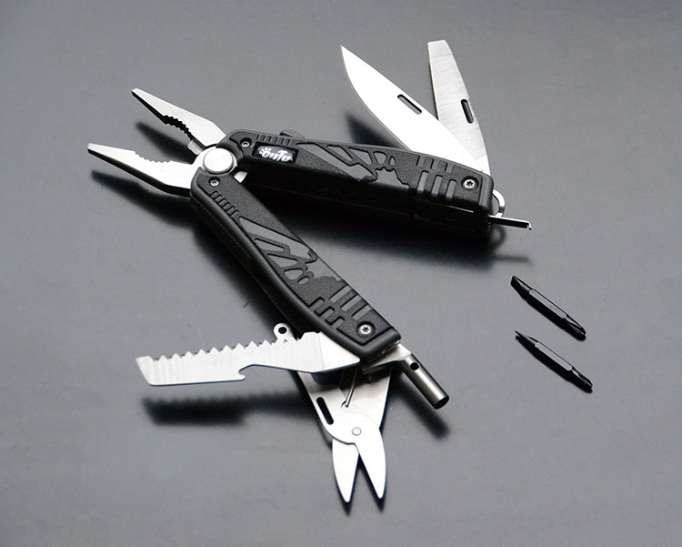 Overview of Multifunctional EDC Plier Survival Tool Stainless Steel - MPA27