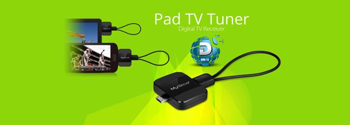 Mygica Pad Android Tv Tuner Dvb T2 Pt360 Black Jakartanotebook Com