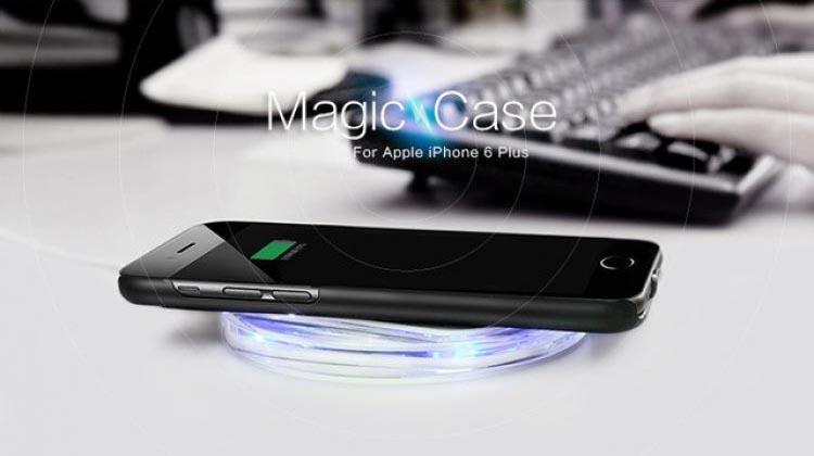 Nillkin Magic Wireless Charging Case for iPhone 6 Plus merupakan inovasi baru dari casing smartphone, guna memenuhi kemudahan dalam pengisian daya.