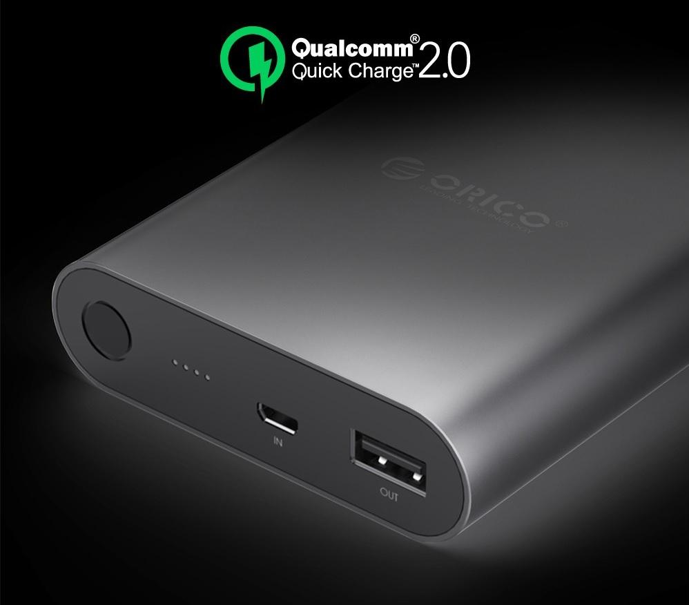 Orico Power Bank 10400mah Qc 20 Q1 Black Airyrooms Silicone Xiaomi Powerbank 10000mah Ter Oem Untuk Anda Yang Memiliki Smartphone Dengan Fitur Quick Charge Maka Dapat Menggunakan Ini Dan Mengisi Baterai Sangat Cepat