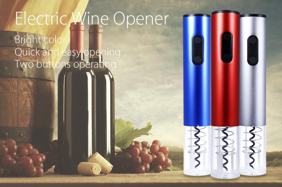 Pembuka Tutup Botol Wine Otomatis Corkscrew Bottle Opener