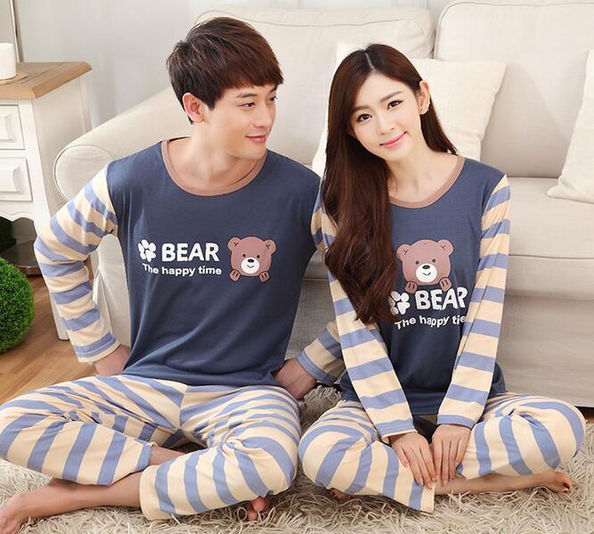 Piyama Bear Couple Wanita Size L