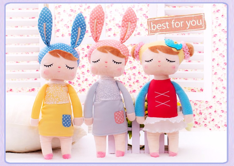 Plush Toy Boneka Angela Bunny - Gray - JakartaNotebook.com c3cd66be3a