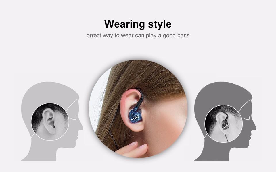 Cocok digunakan untuk olahraga berkat design memory wire yang melengkung  disekitar telinga. 491296f5f8