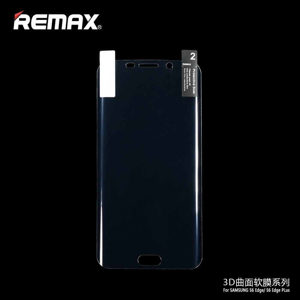 Remax Pet Full Cover Curved Screen Protector Material 3d Film For Standar Anti Gores Laptop Hp Tempered Glass Pelindung Layar Samsung Galaxy S6 Edge Plus