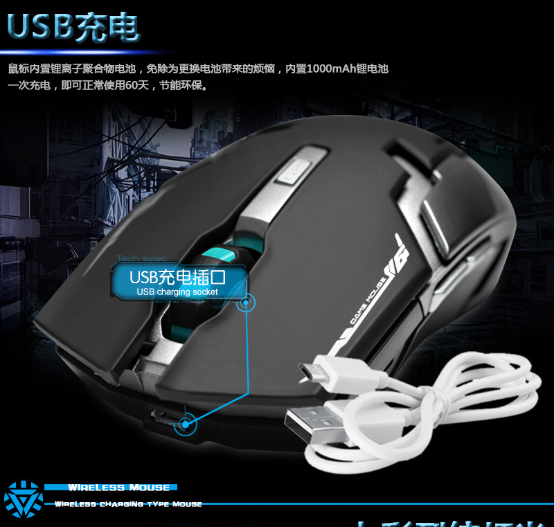 6 Tombol Dpi Optik Mouse Gaming Kabel Usb Yang Dapat Update Daftar Source · Mouse gaming