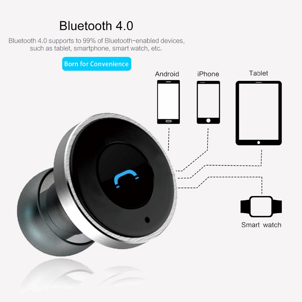 remax car bluetooth headset with usb car charger rb t11c. Black Bedroom Furniture Sets. Home Design Ideas