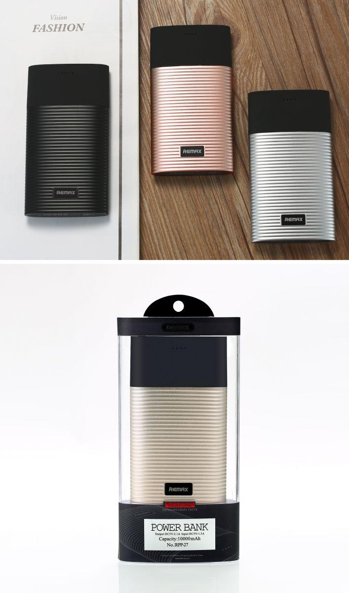 remax perfume series power bank dual usb 10000mah   rpp 27