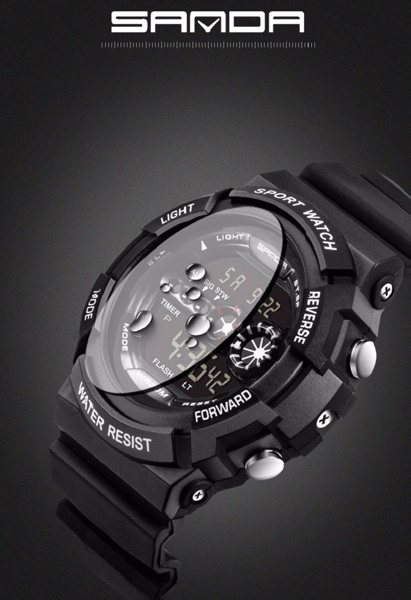 Sanda Jam Tangan Sporty Pria Sd 320 Black Produk Bumn Casio G Shock Desain Yang Keren Ini Tidak Kalah Dengan Brand Ternama Seperti Rolex Omega Bulova Edifice Hublot Patek Philippe Iwc