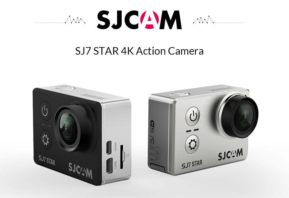 Sjcam Sj7 Star Action Camera 4k Wifi Black