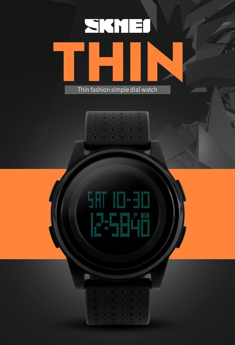 Skmei Jam Tangan Digital Pria Dg1206 Black 333mlbldg1 Ini Memiliki Design Sporty Dan Tangguh Dengan Fitur Seperti Penunjuk Tanggal Bulan Night Light Waterproof Stopwatch Membuat