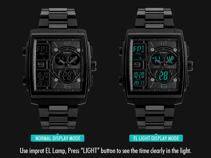 Desain dari jam tangan ini tidak kalah menarik dari brand ternama seperti  Rolex f0faf46427