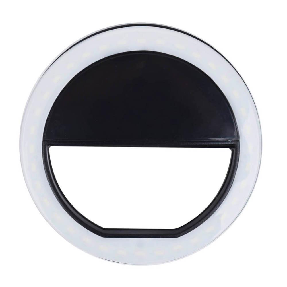 Led lampe ring deptis inspirierendes design fr wohnmbel selfie spotlight led flash lamp phone ring white led lampe ring parisarafo Choice Image