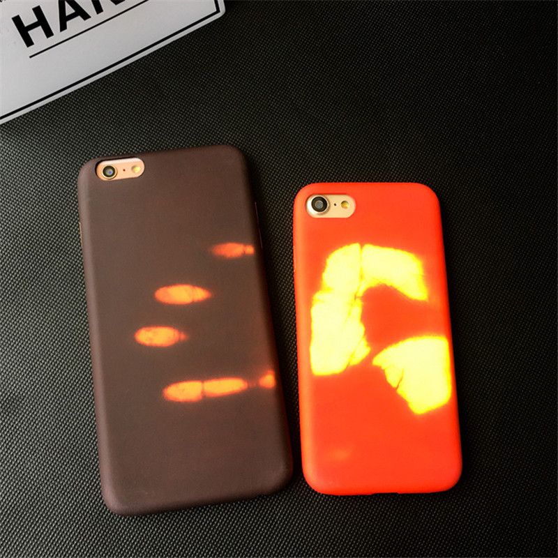 ... Sensitive Thermal Hardcase for iPhone 7 8 Plus - Red - 4 ... 6172514b56