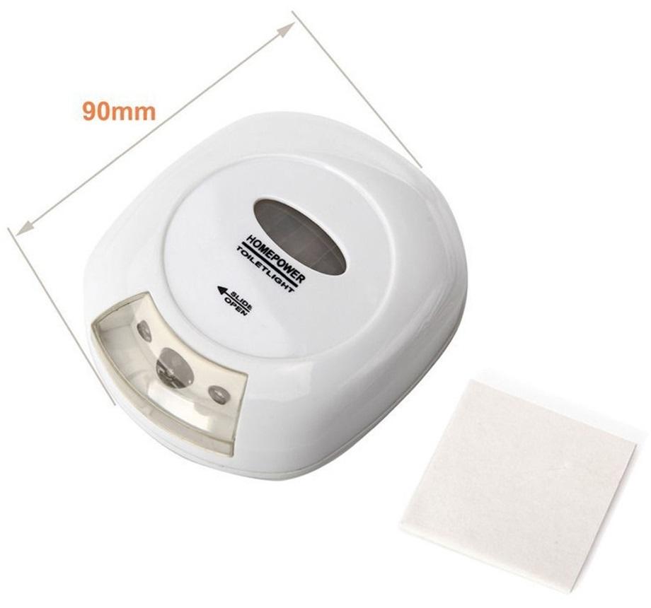 Smart Bowl Brite Sensor Toilet Lamp Lampu Toilet White
