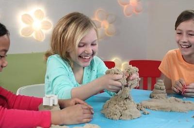 Squishy Sand Moldable Sand Kids Toys / Mainan Pasir - JakartaNotebook.com