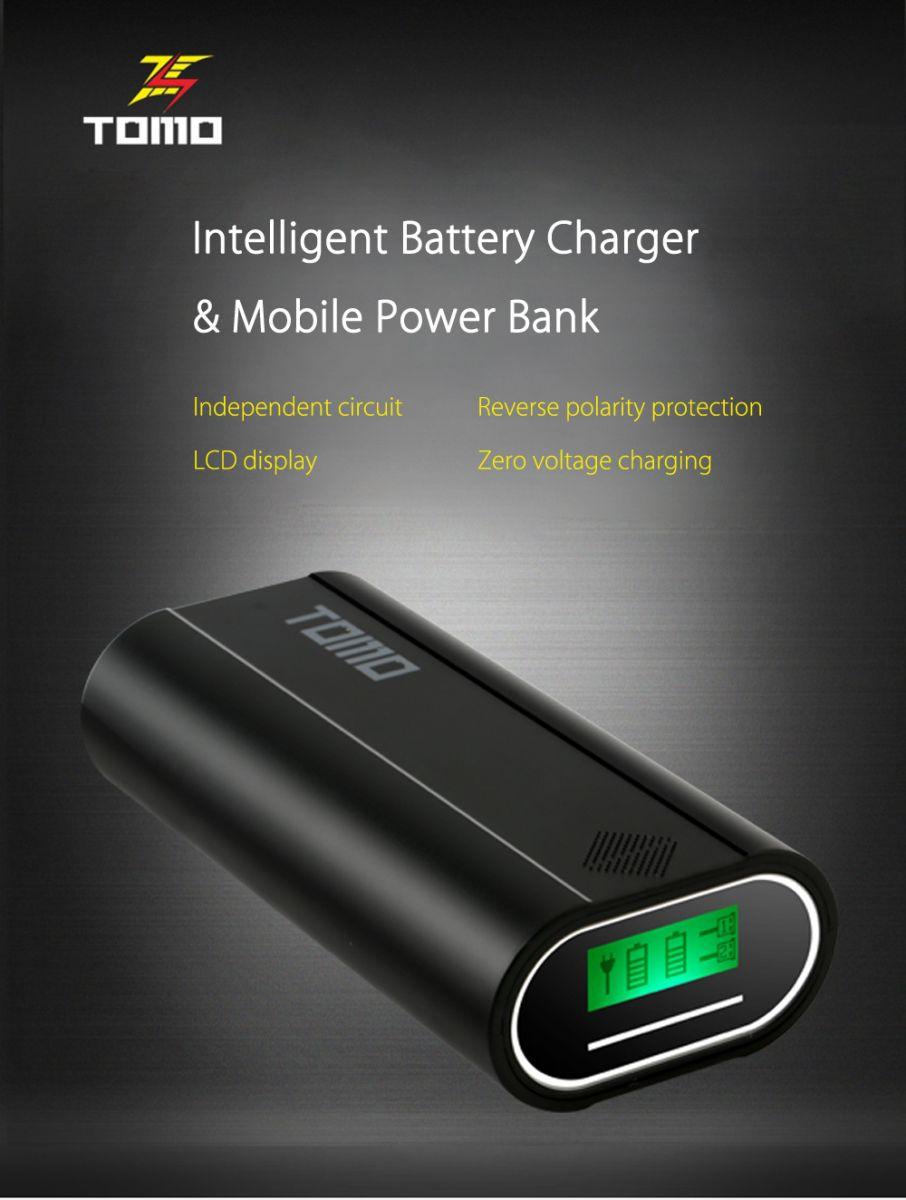 Tomo M2 Diy Power Bank Case 2 Usb Port Black Merakit Dot Com Transmitters Casing Untuk Anda Yang Ingin Menggunakan Buah Baterai 18650 Dengan Besaran Daya Sesuai Kebutuhan