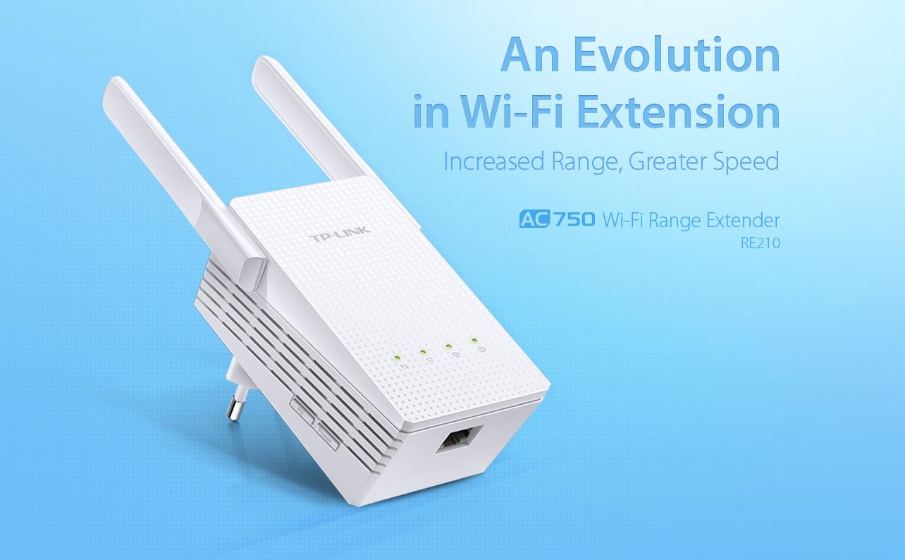 TP LINK AC750 WiFi Range Extender