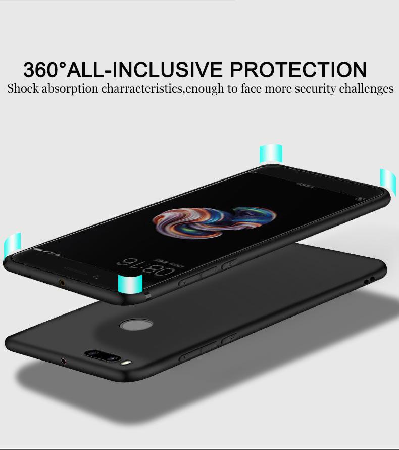 Tpu Silicone Case For Xiaomi Mi A1 5x Black Jakartanotebook Com