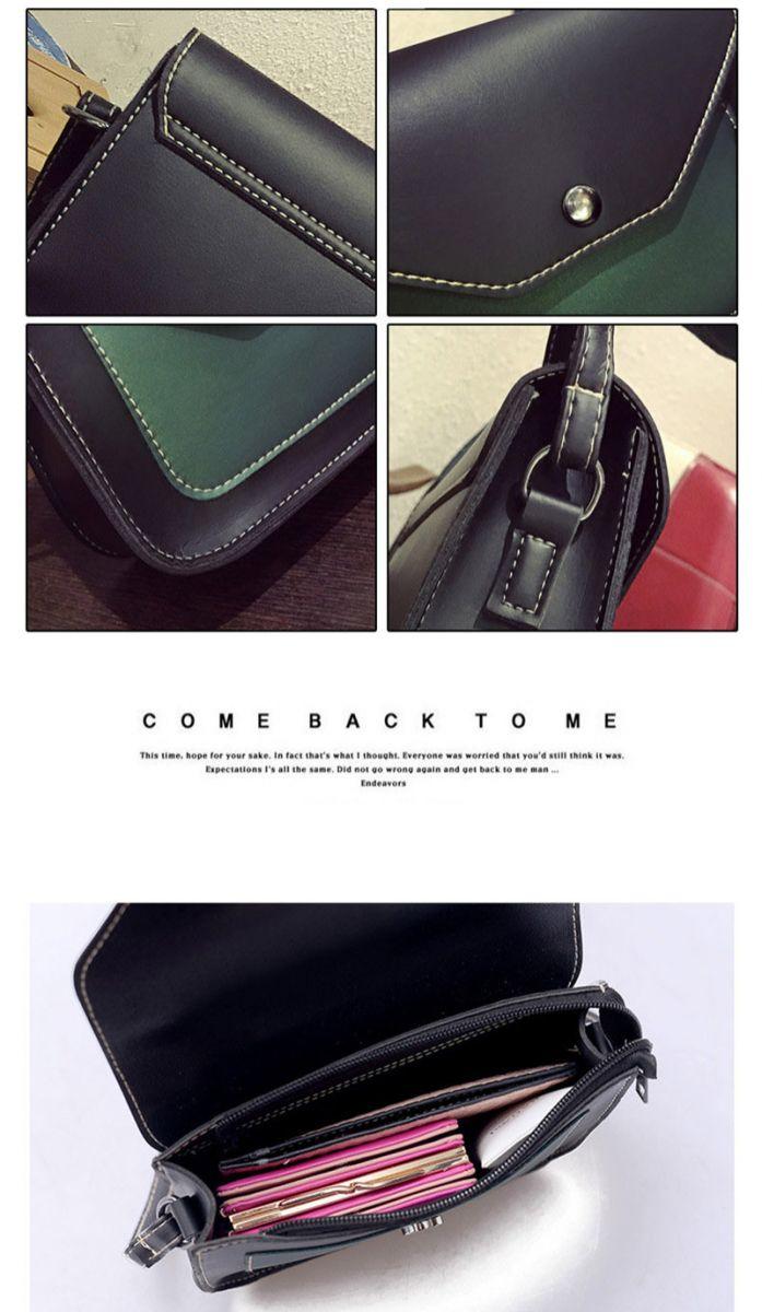 Tas Selempang Wanita Korean Style Red Fashion Korea Package Content 1x