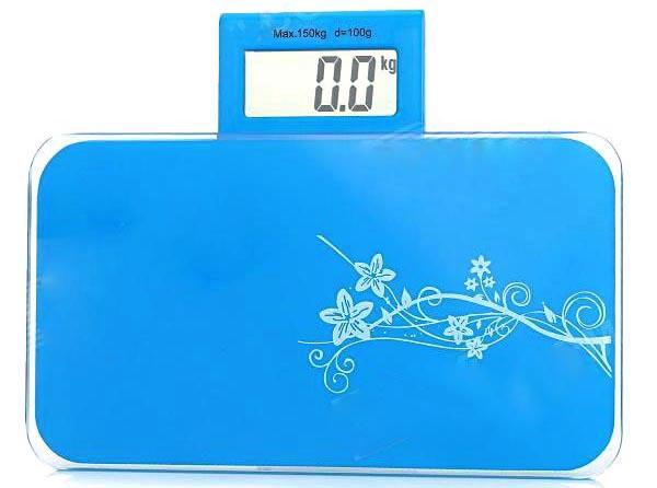Www Timbangan Berat Badan By Mini Digital 180kg Taffware Sc 03 Blue
