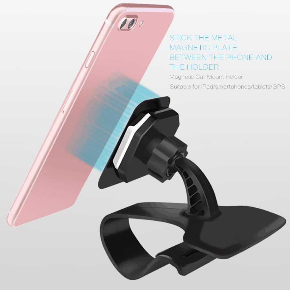 Universal Magnetic Car Mount Holder Dashboard Mobil For Smartphone Gps Spion Di Menggunakan Magnet Yang Menempel Pada Bagian Belakang Anda Dengan Sistem Ini Dapat Melepas Pasang Lebih