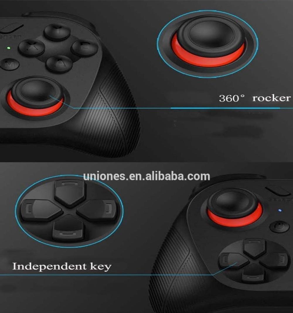Vrbox 20 Bluetooth Wireless Gamepad Joystick For Android And Ios Vr Box Smartphone Controller Dengan Holder Yang Flexible Membuat Gaming Ini Cocok Berbagai Jenis Game Compatible