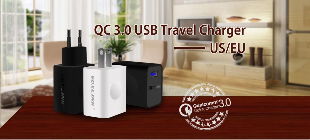 Voxlink Charger Usb Qc 3 0 Black Jakartanotebook Com