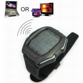 Jam tangan multi fungsi ini dapat digunakan menjadi remote TV DVD CD.  Dengan menggunakan layar touch screen membuat jam tangan ini mudah  digunakan. 433d0b57e6